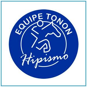 Logo e desenvolvimento de site para equipe de hipismo do cavaleiro Anderson Tonon de Curitiba - PR.