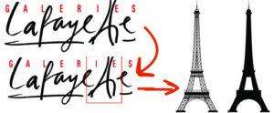 A torre Eiffel está na logo da marca francesa que nasceu em Parisl